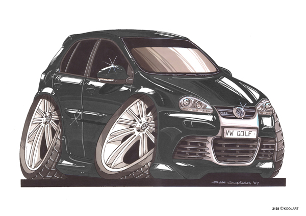 Volkswagen Golf Noire
