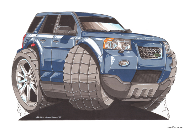 Land Rover Freelander Bleu