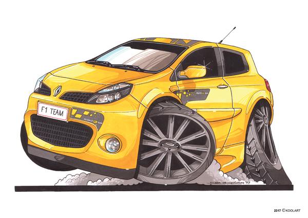 Renault Clio Sport Jaune