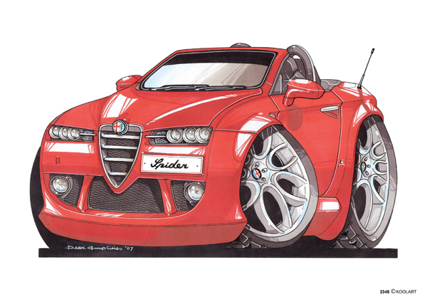Alfa Roméo Spider Rouge