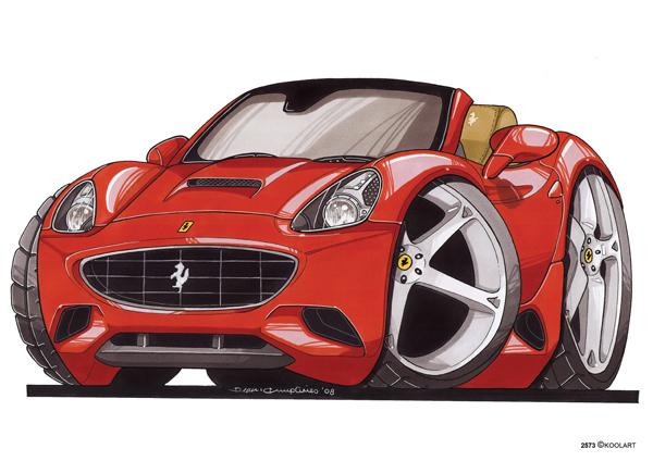 Ferrari California Av Rouge