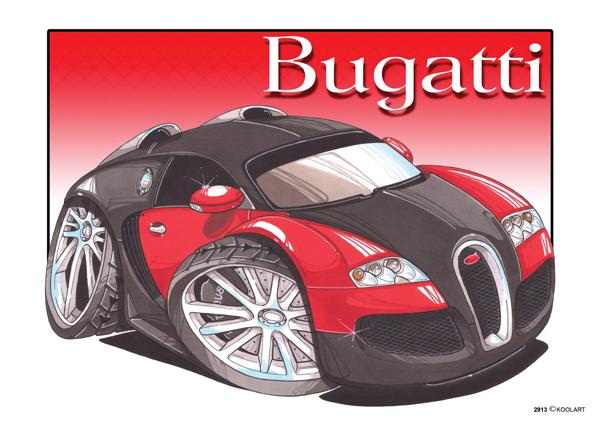 Bugatti Veyron Rouge & Noire