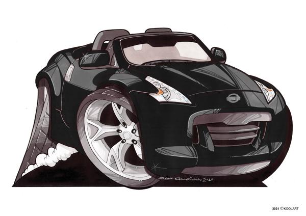 Nissan 370Z Noire