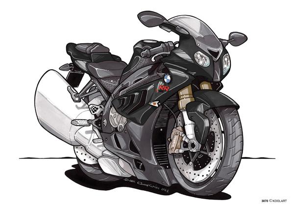 BMW S 1000 RR Noire