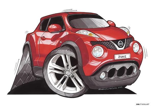 Nissan Juke SUV Rouge