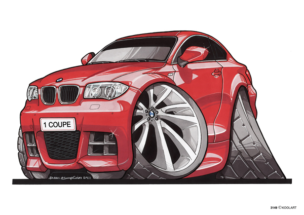 BMW Serie 1 Rouge