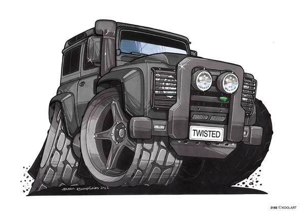 Land Rover Defender Noir