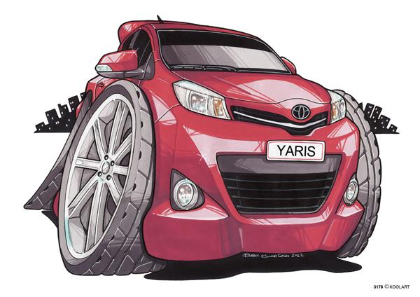 Toyota Yaris Rouge