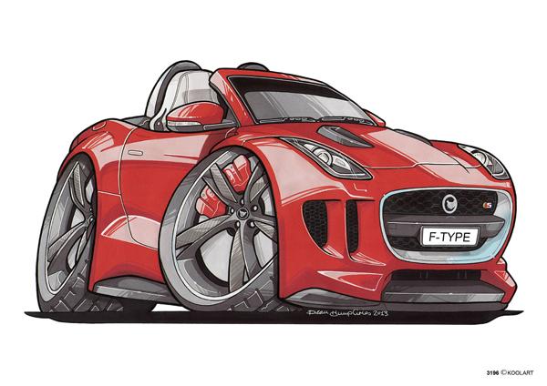 Jaguar F-Type Rouge