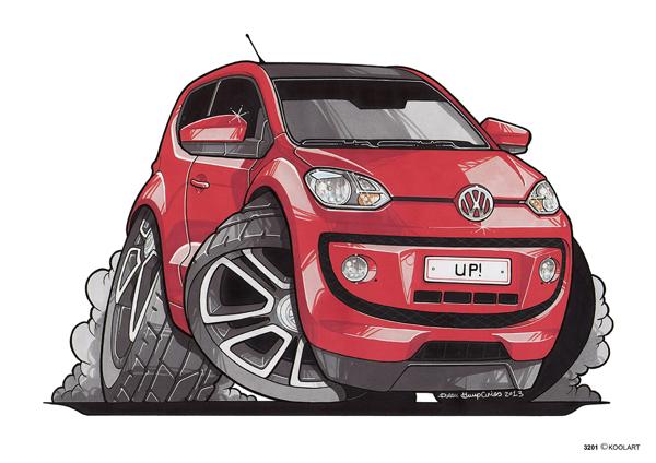 Volkswagen Up! Rouge