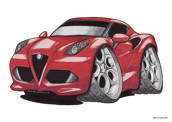 Alfa Roméo 4C Rouge
