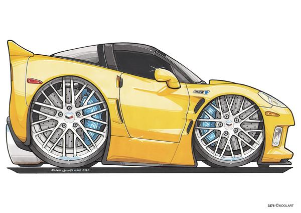 Corvette ZR1 Jaune