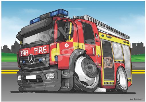 Mercedes Trucks Pompier