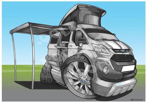 Ford Transit Camper Gris