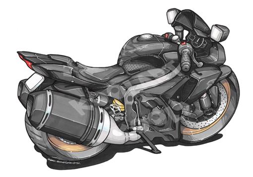 Suzuki GSXR Noire