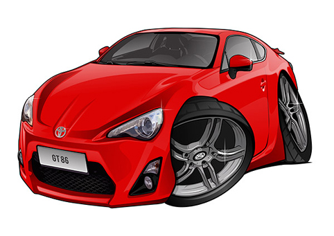 Toyota GT86 Rouge