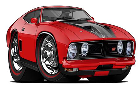 Chevrolet Falcon GT Rouge