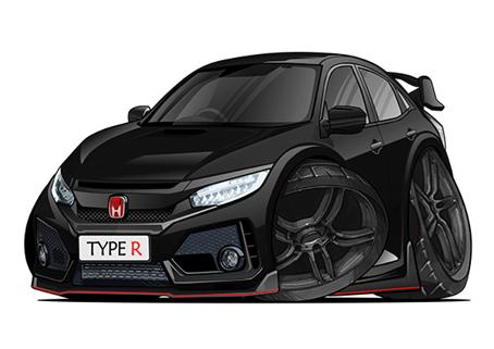 Honda Type R Noire