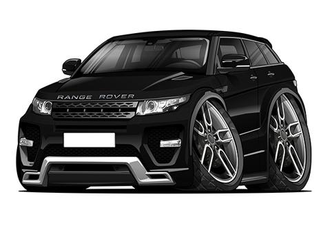 Range Rover Evoque Noir