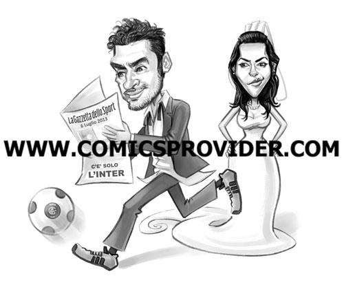 caricatura_sposo_tifoso