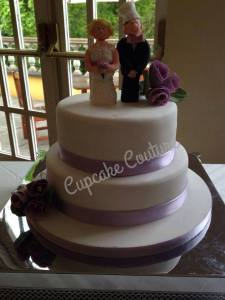Cupcake Couture Wedding Cake