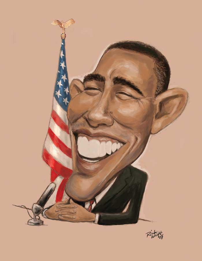"""Résultat de recherche d'images pour """"images caricatures obama"""""""