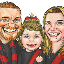 Family of Essendon Fans