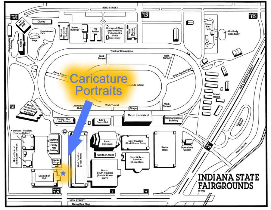 Florida State Fairgrounds Map.Map Florida State Fair Fairgrounds 2014
