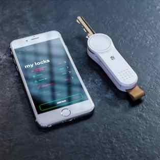 Locky car keychain