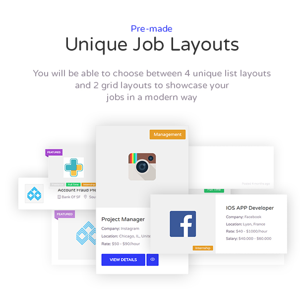 Cariera - Thème WordPress Job Board - 4