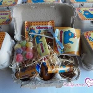 kit Guloseimas caixa de ovo
