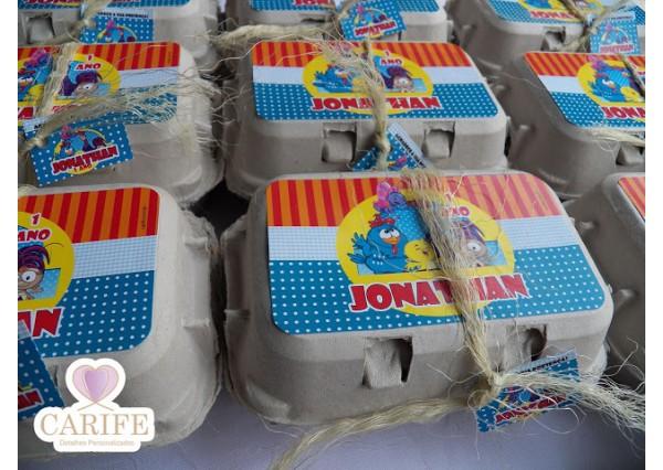 4205656acb4d4 kit caixa de ovo - Galinha Pintadinha - Carife   Lembrancinhas ...