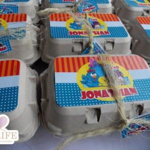 kit caixa de ovo – Galinha Pintadinha