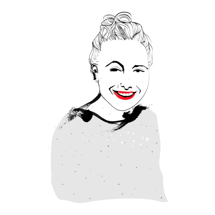 Illustrasjon laget av Turi Hoem - Carina Behrens - carinabehrens.com