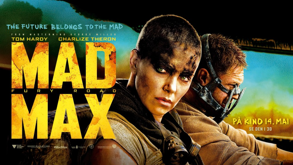 Mad Max: Fury Road plakat/poster - Carina Behrens, carinabehrens.com