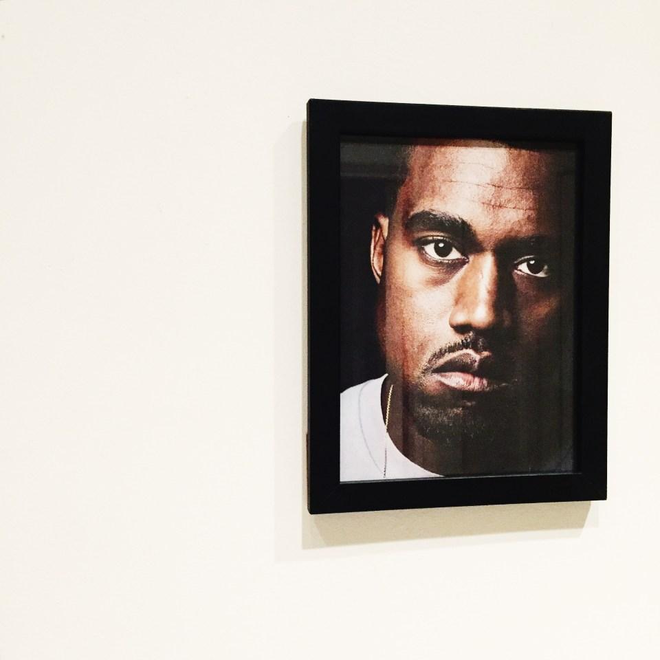 Kanye West i ramme - Carina Behrens, carinabehrens.com