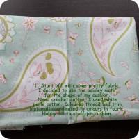 Pretty Paisley Pin Cushion Tutorial