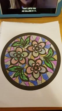 Still coloring... Lol :)