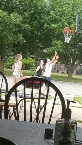 Lots of basketball fun on the 4th!