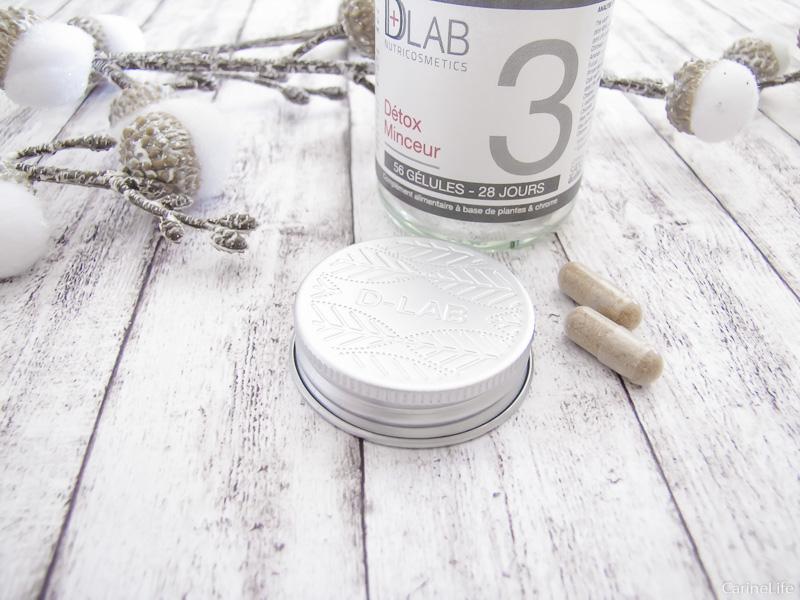 Les gélules detox minceur D-lab nutricosmetics test et avis !