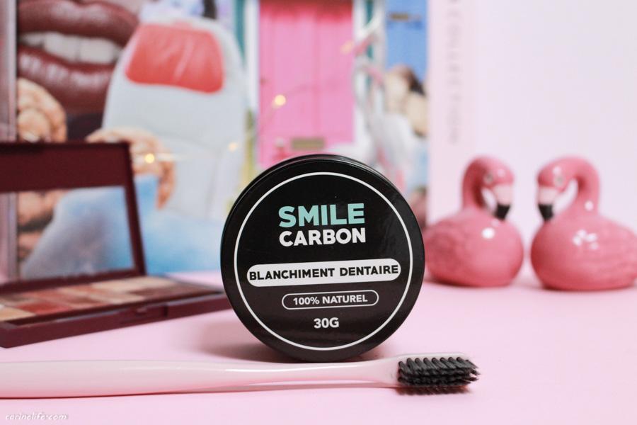 Smile Carbon: du charbon pour blanchir les dents ? mon avis