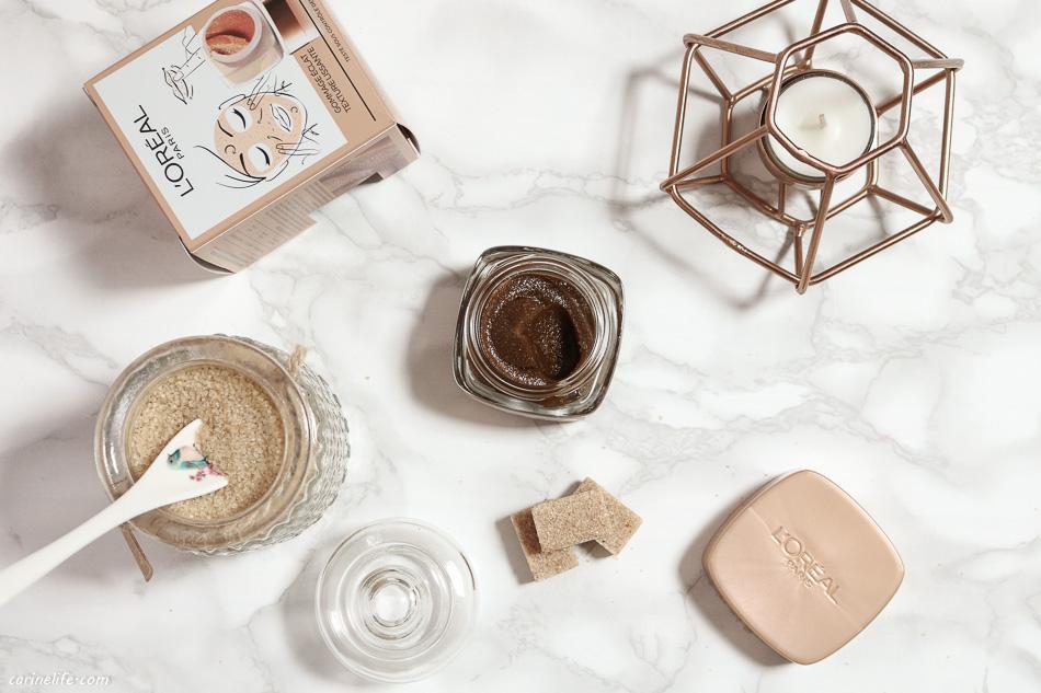 Un gommage aux sucres de soin signé L'Oréal Paris, mon avis