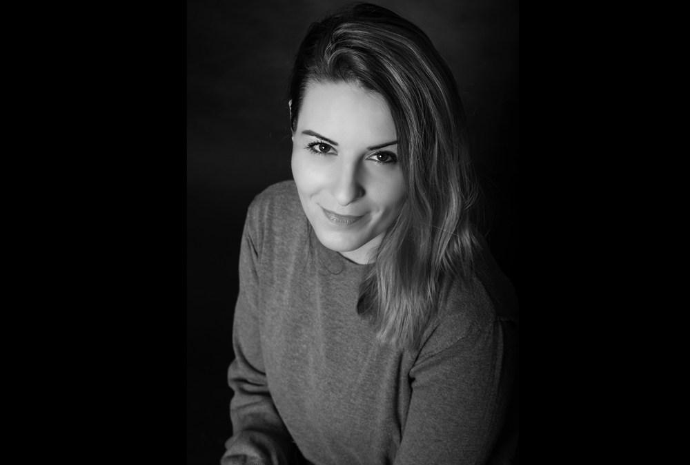 photo portrait studio noir et blanc