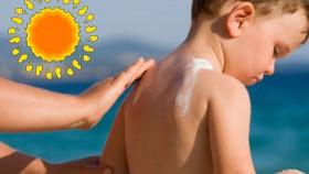 Aloe gel for kids for Sunburn
