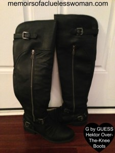 G by GUESS Hektor Over-The-Knee Boots
