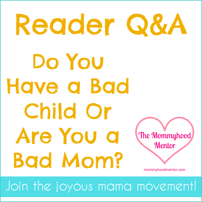 In this Reader Q&A, I answer a question about maintaining your confidence as a mom despite your child's chronic misbehavior.
