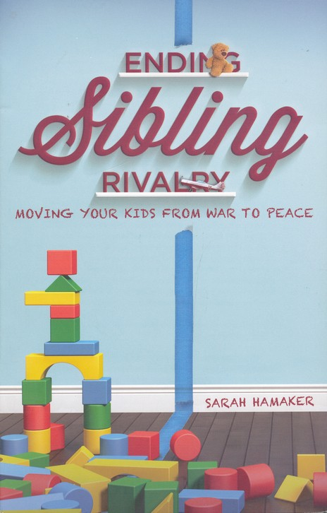 Ending Sibling Rivalry: Moving Your Kids From War to Peace, by Sarah Hamaker, is available now. Click here to read my review and grab your copy today!