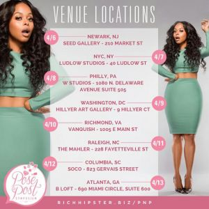 Chrisette Michele Pose N Post Symposium, A Social Media It Girl 8 City Tour via @carinkilbyclark