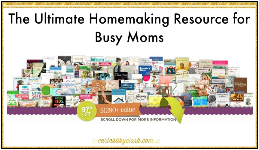 The Ultimate Homemaking Resource for Busy Moms