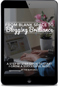 From Blank Space to Blogging Brillance